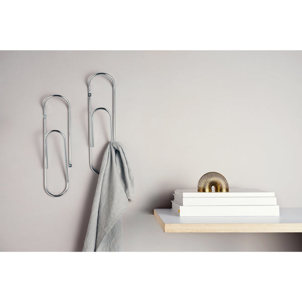 CLIP - Giant Paper Clip Wall Hook