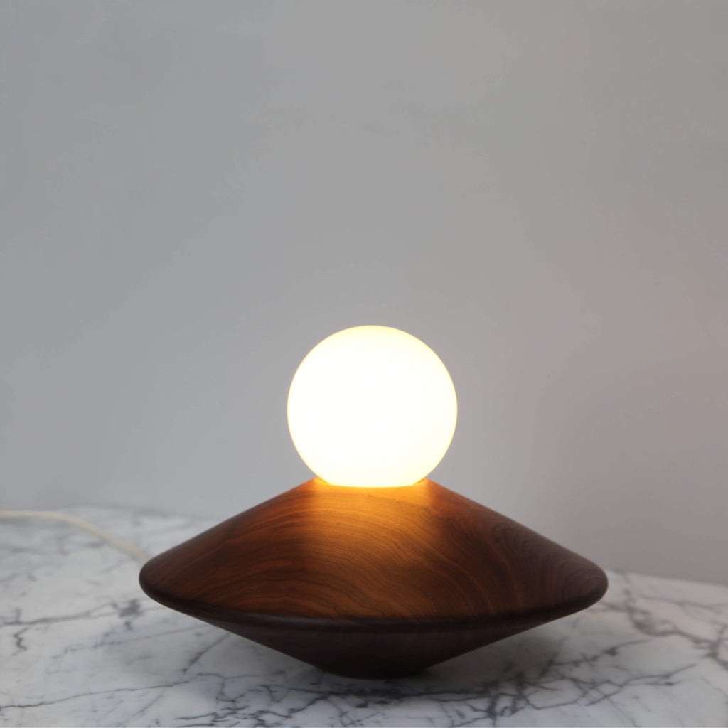 BRIGHT BEADS | TABLE DISC LAMP