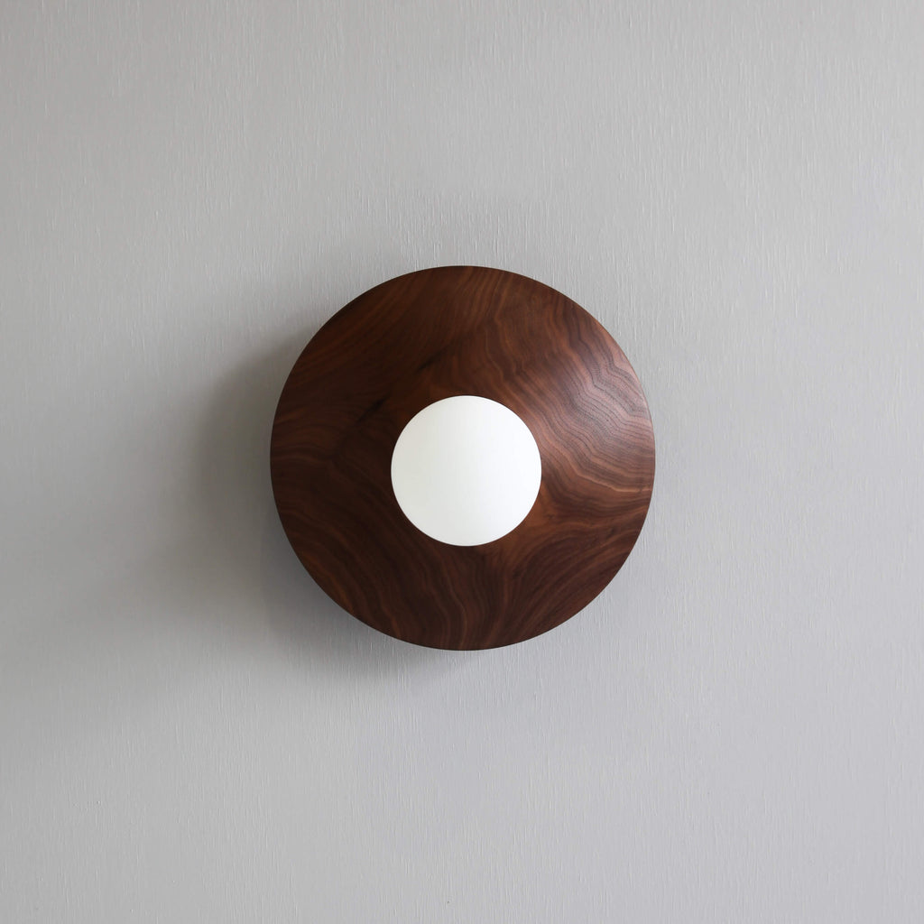 BRIGHT BEADS |  DISC WALL LIGHT