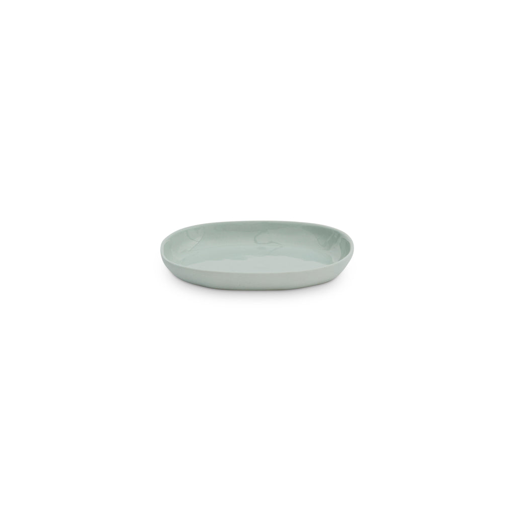 CERAMIC CLOUD OVAL PLATE S