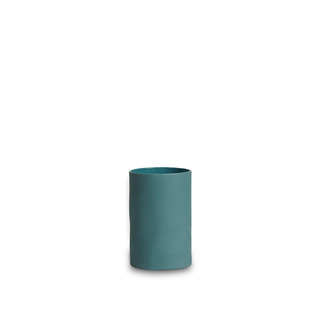 SMALL CLOUD CYLINDRICAL VASE