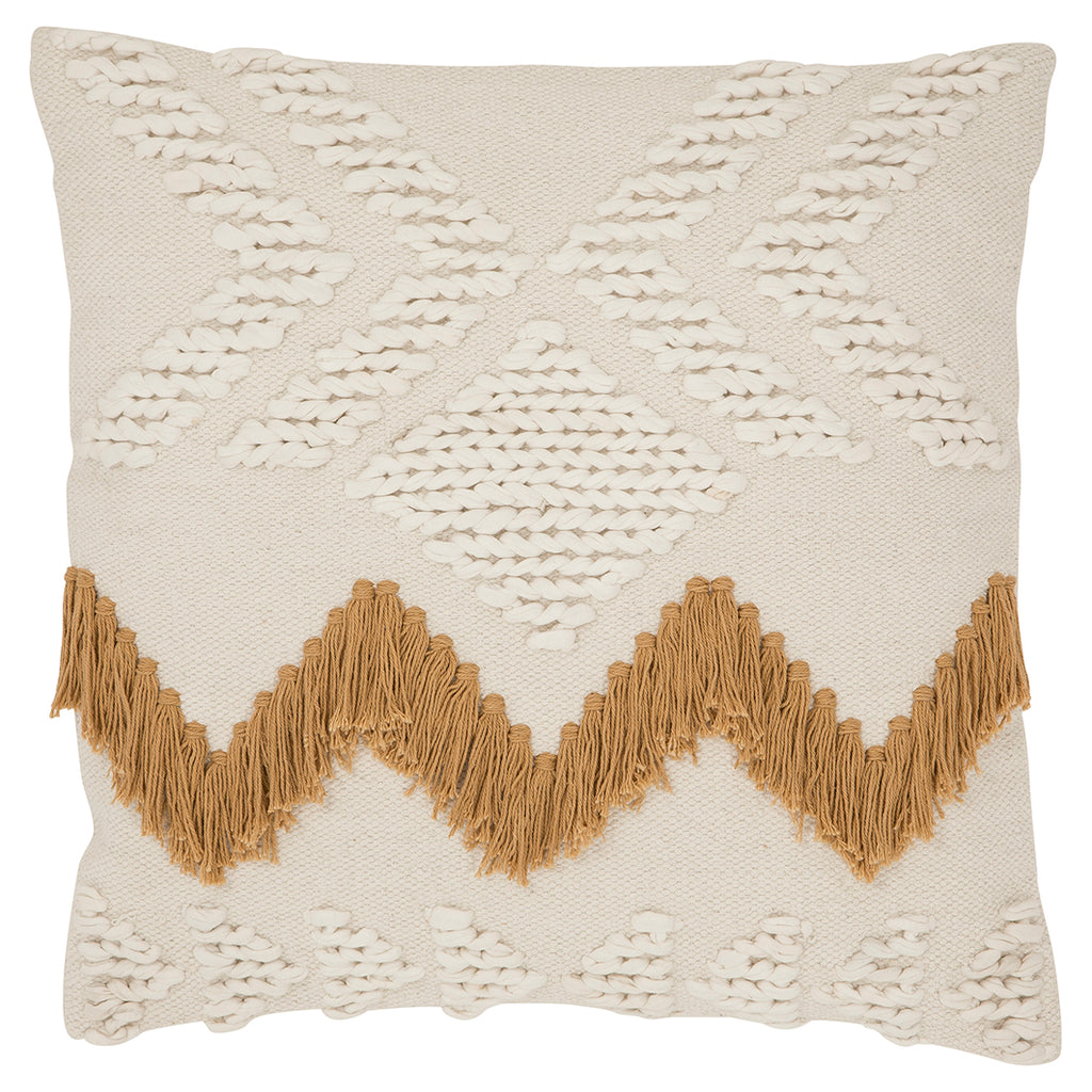 FRINGE CUSHION COVER SQUARE