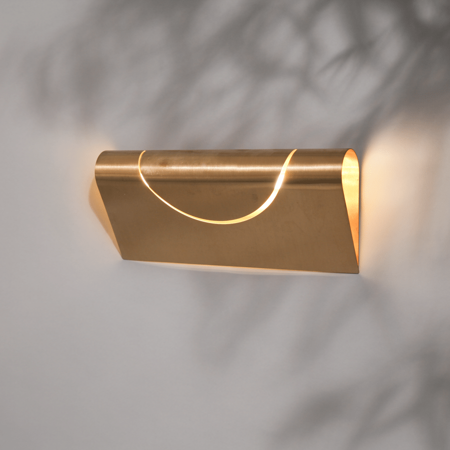 FURL SQUARE WALL LIGHT