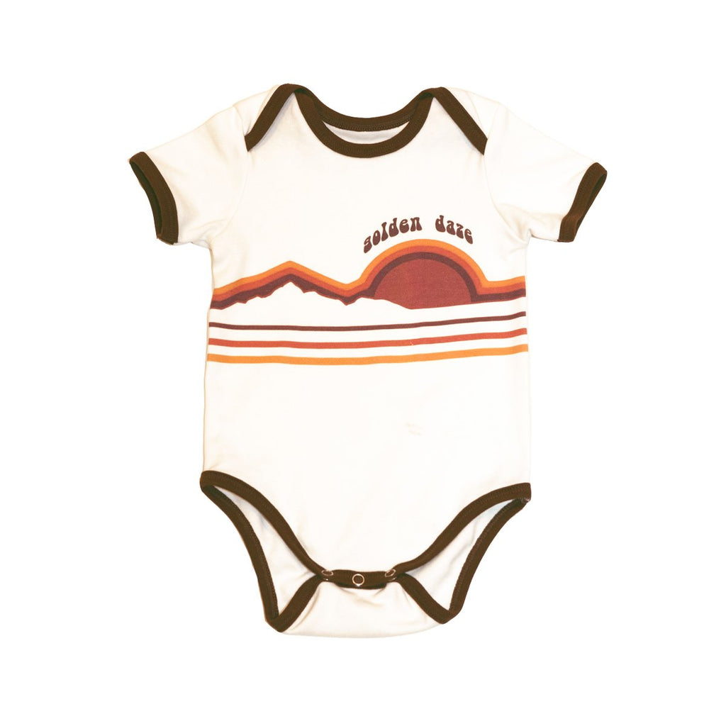 GOLDEN DAZE ONESIE