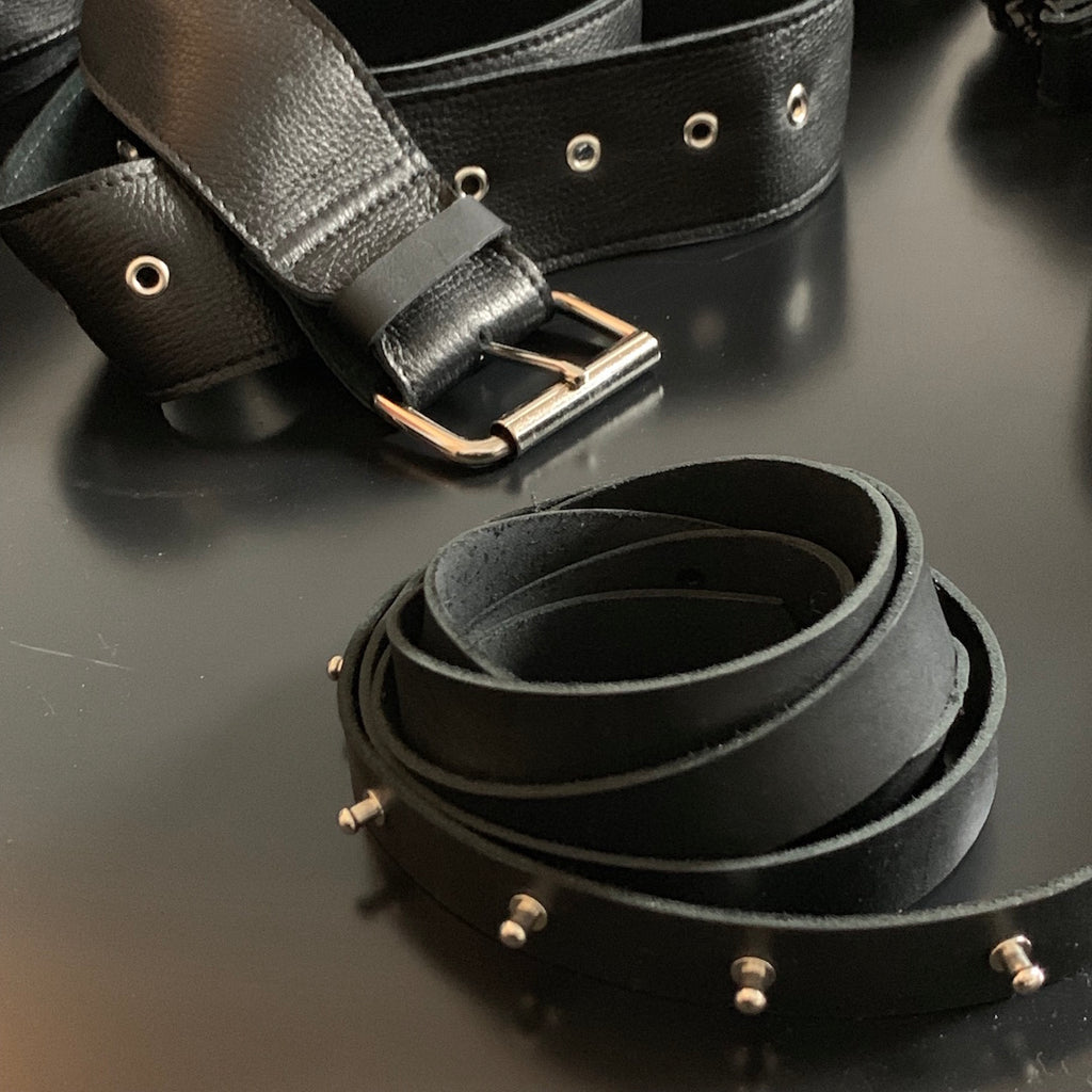 REMEN LONG LEATHER BELT