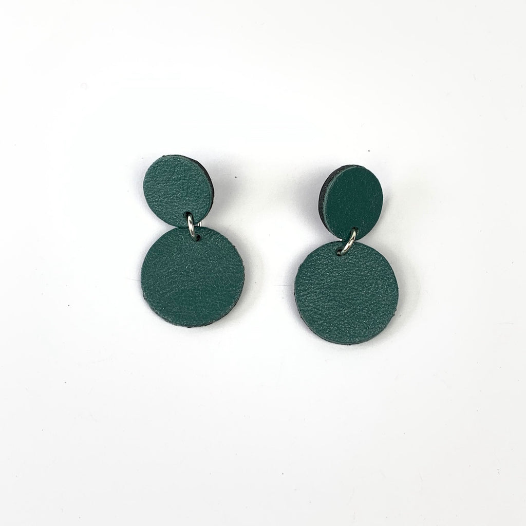 ALANAH LEATHER EARRINGS