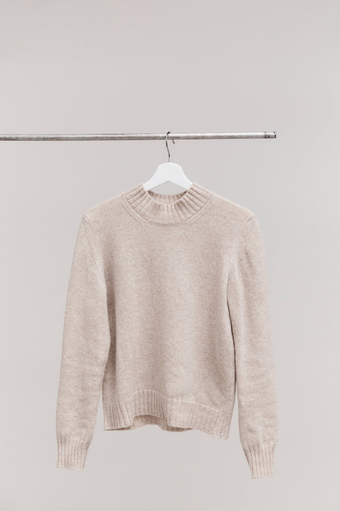 CELESTE | HIGH NECK SWEATER