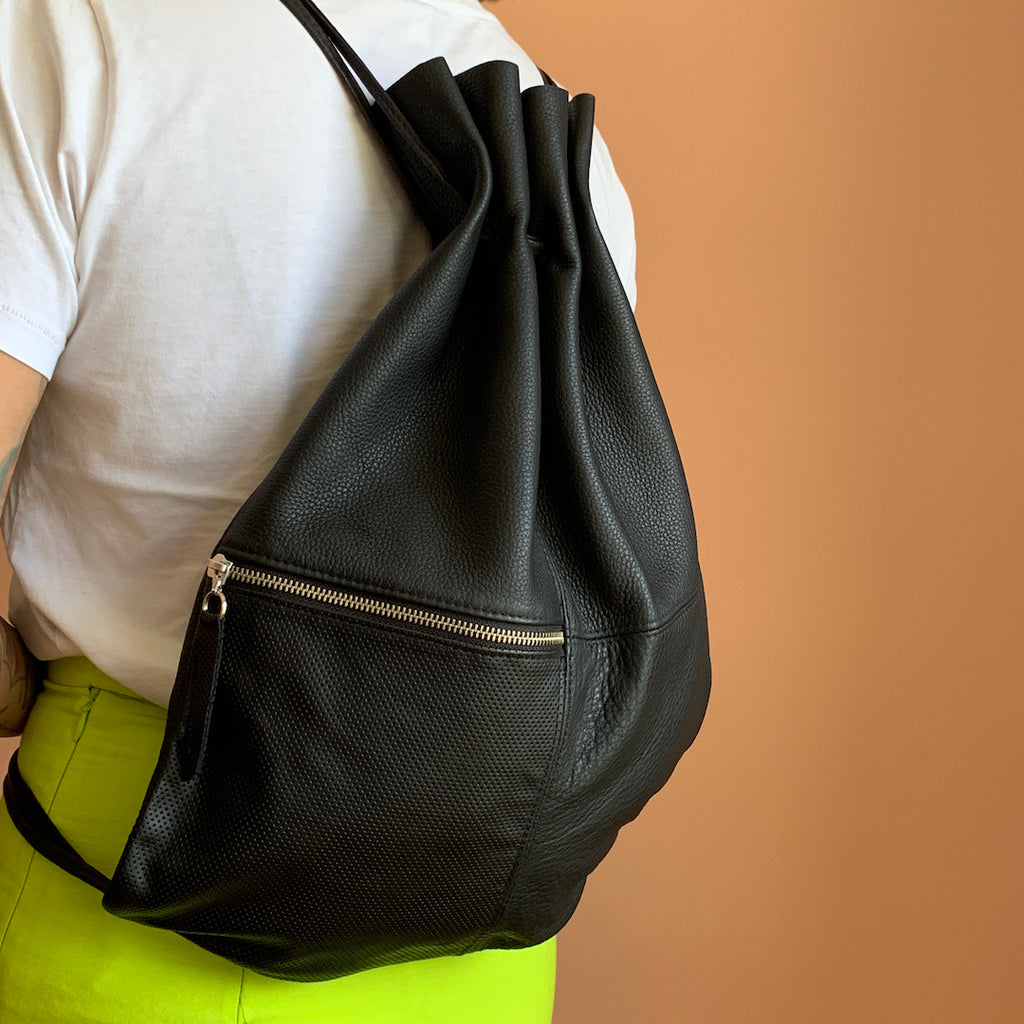 SILNA LEATHER BACKPACK