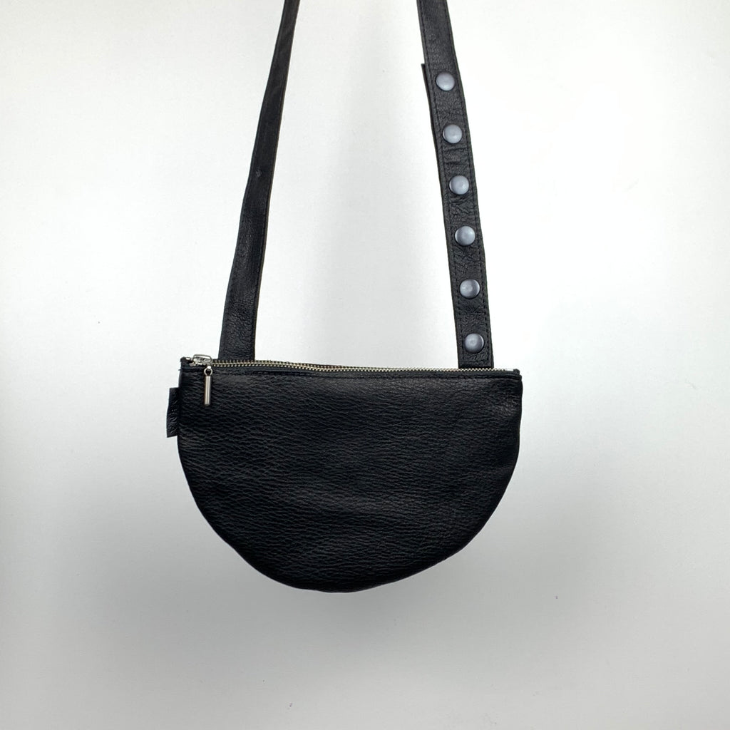 STALNO LEATHER MINI SIDE BAG HALF MOON
