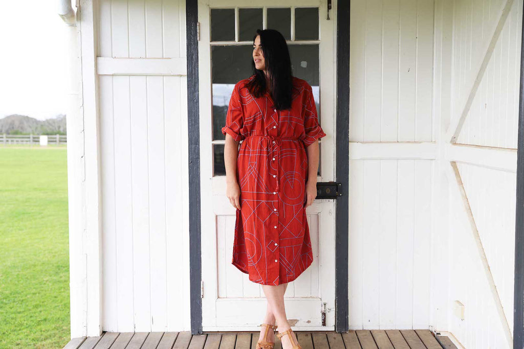 ATLAS SHIRT DRESS