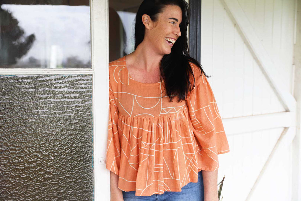 ATLAS PLEATED TOP