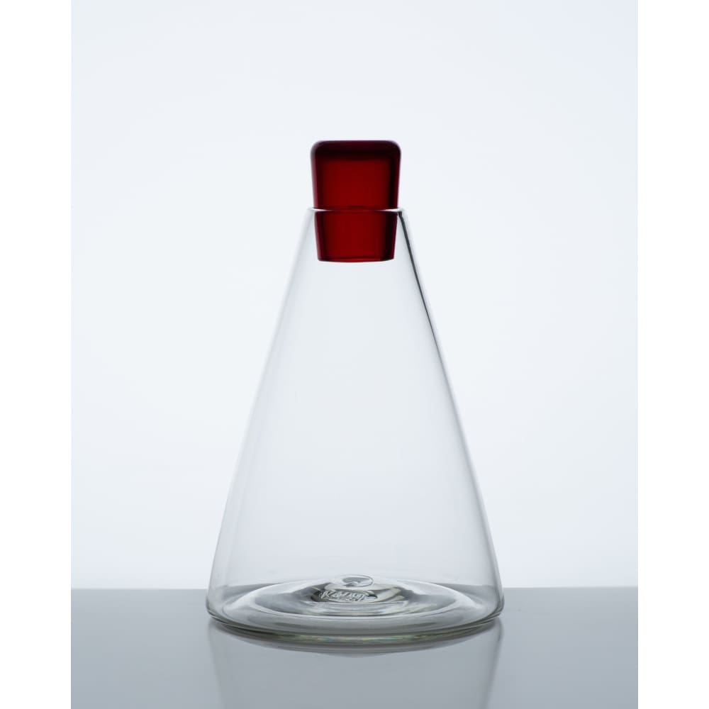 BABUSHCA DECANTER - CONE / RED / TRADE - Wholesale | Trade