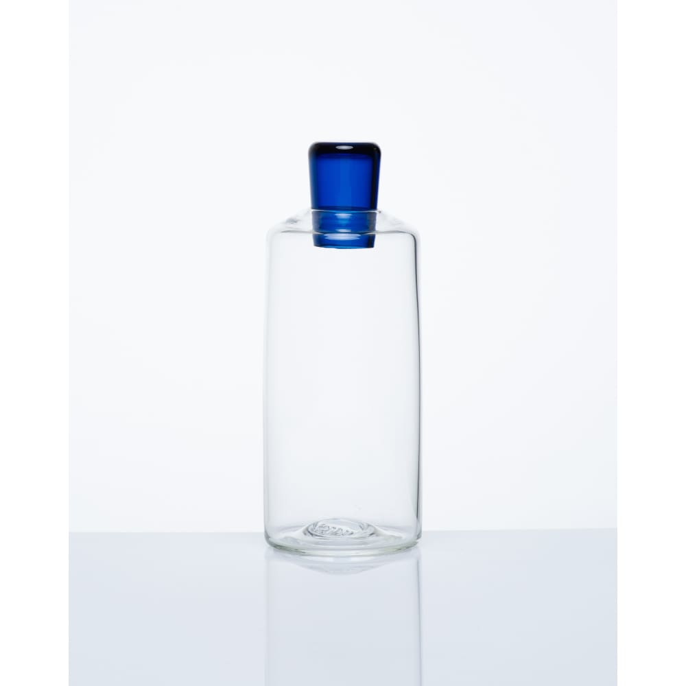 BABUSHCA DECANTER - CYLINDER / AQUAMARINE / TRADE - Wholesale | Trade