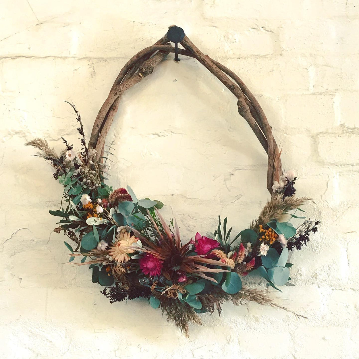 Teardrop Wreath