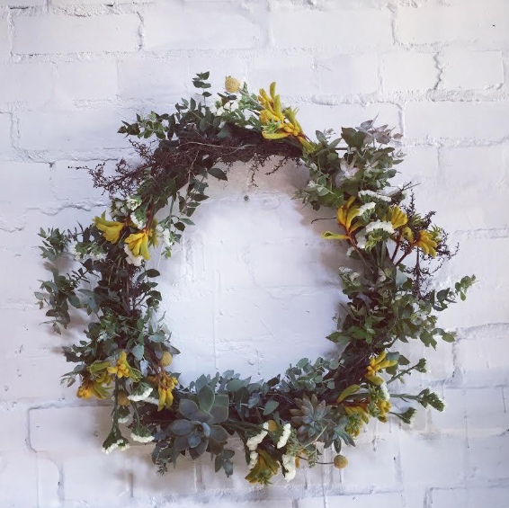Wreath Workshop Saturday the 2nd of December 2017