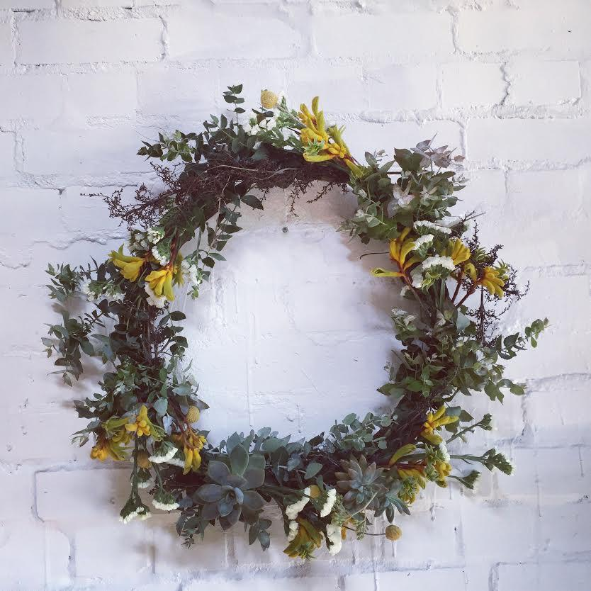 Christmas Wreath Workshop Saturday the 16th of December 2017