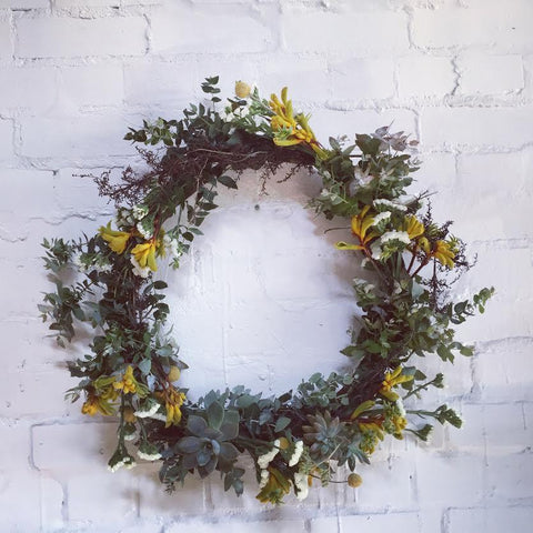 Christmas Wreath Workshop Saturday the 15th of December 2018