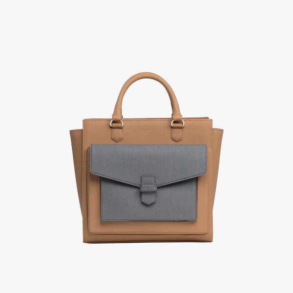 ROSA TOTE + Meteor clutch