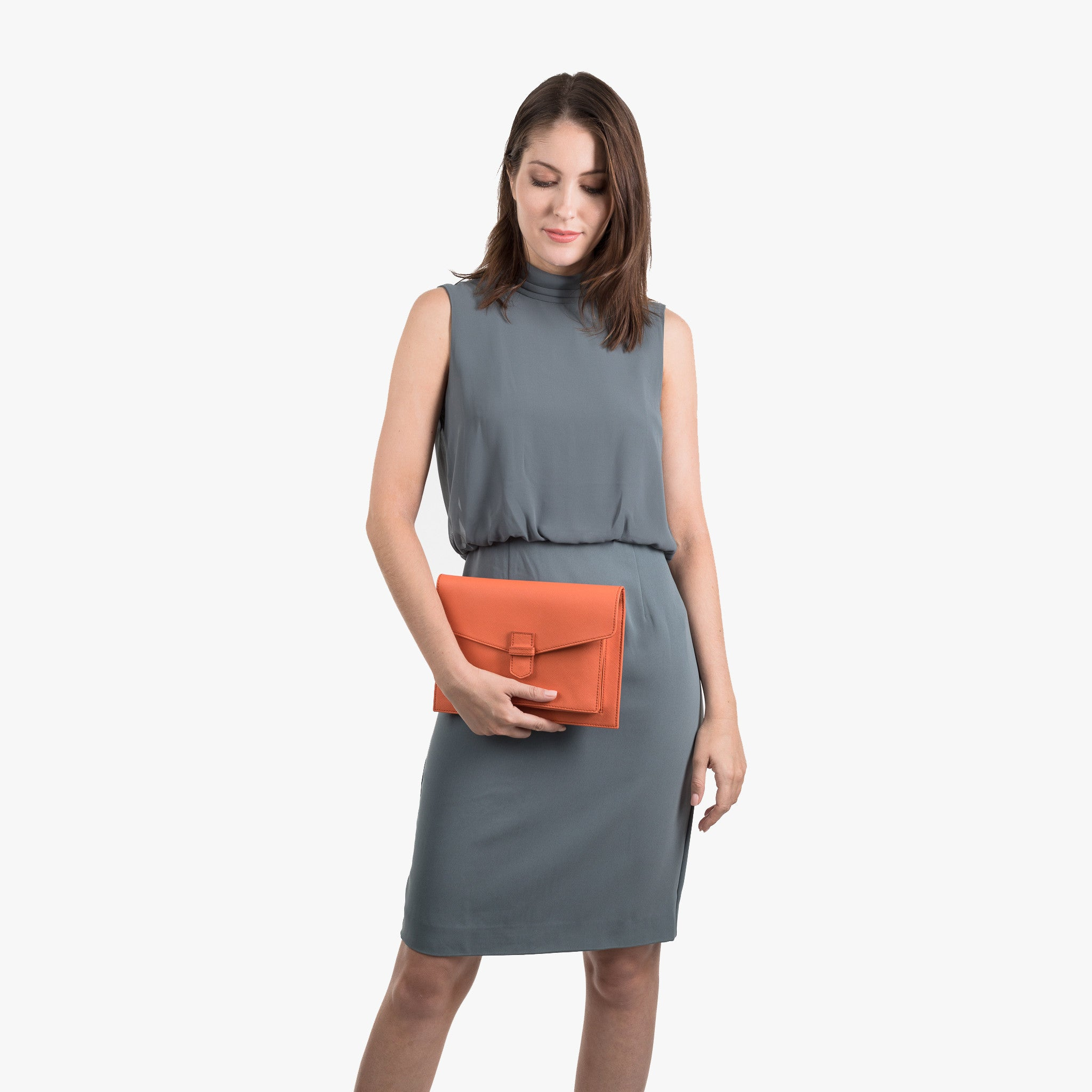 ONNI CLUTCH | Peach