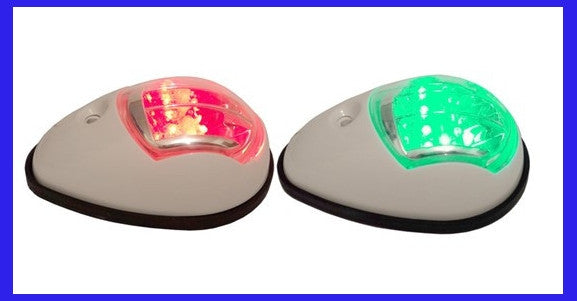 LED Navigation Lights - White Housing