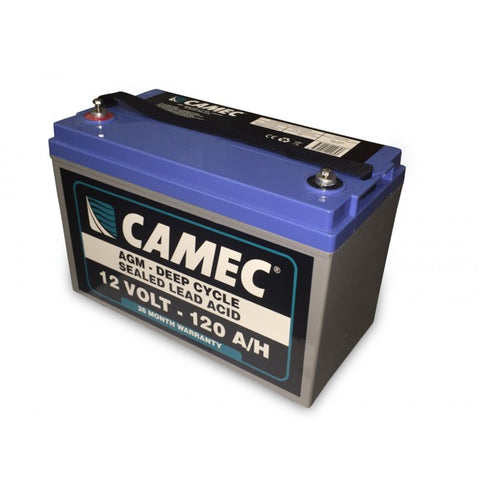 Camec 120AH SLA AGM Battery