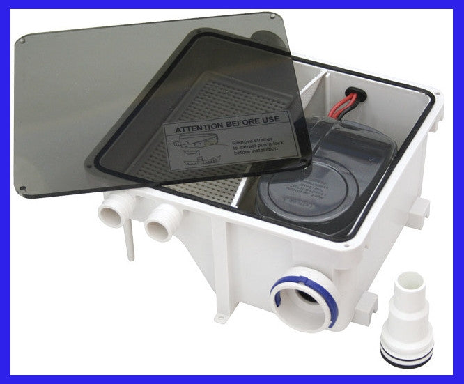 Shower Sump System for RV or Marine