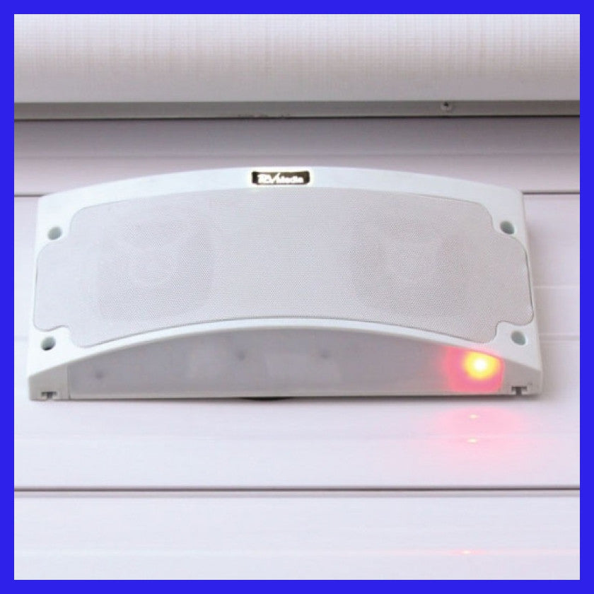 Weatherproof LED Speaker/Awning Light