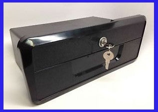 Glove box with lock