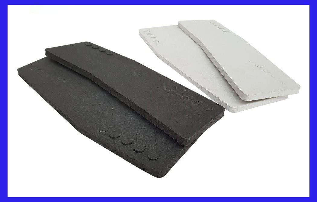 Anti Vibration Engine Transom Pads - Grey