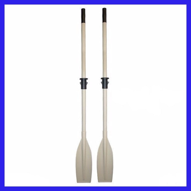Heavy Duty Aluminium Oars with stop 1.80m (pair)