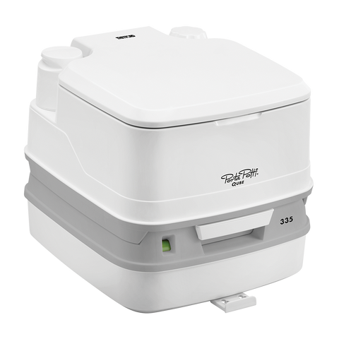 Thetford Porta Potti Qube 335 (with hold down kit)