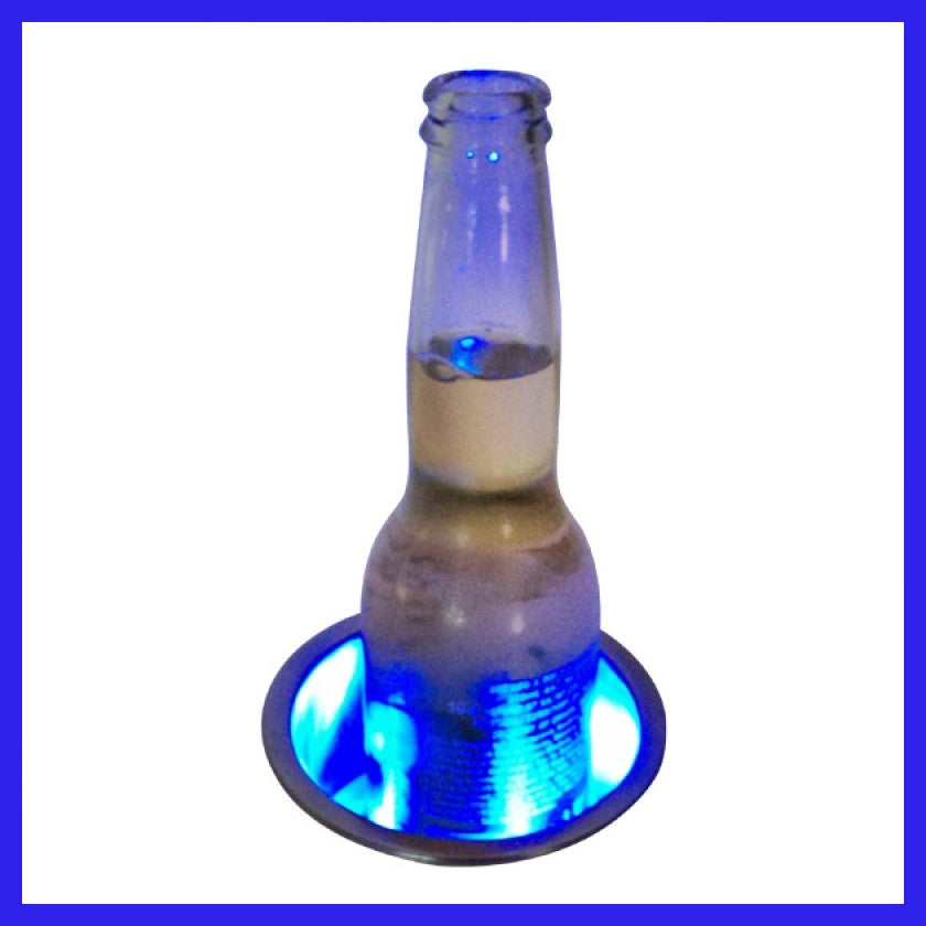 Blue LED Drink Holder