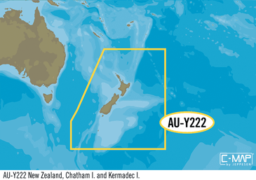 AU-Y222 : New Zealand Chatham I. and Kermadec I., MAX-N+: Wide