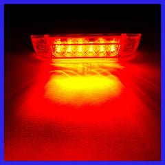 Slimline Submersible Red LED Strip Light
