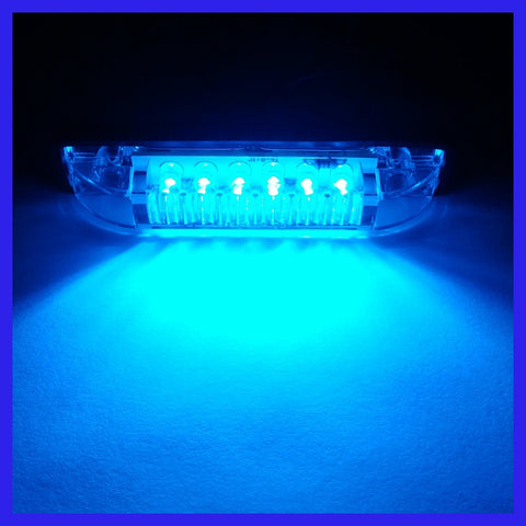 Strip Lights LED - 100mm White or Blue