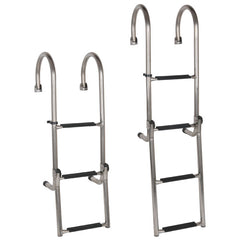 STAINLESS STEEL GUNWALE LADDER - 3 Step