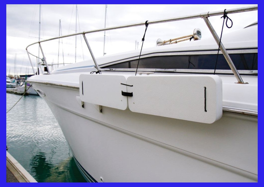Large Modular Boat Fender - White