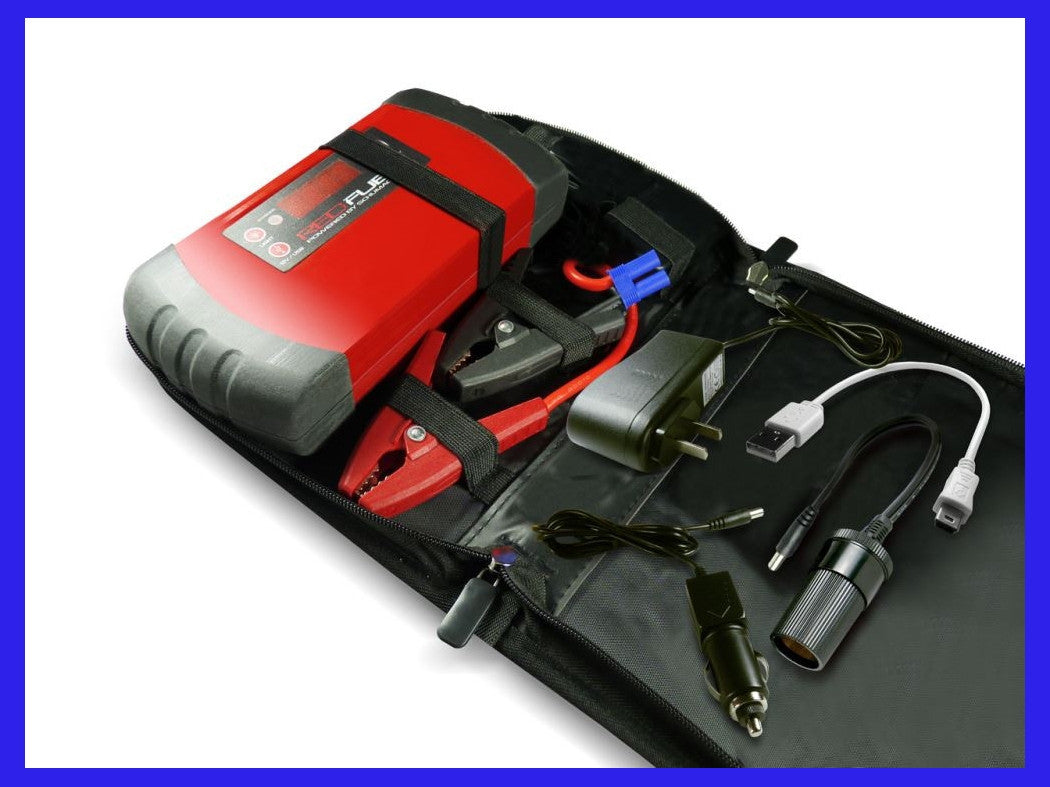 RedFuel Lithium Ion Jump Starter, Fuel Pack and Backup Power