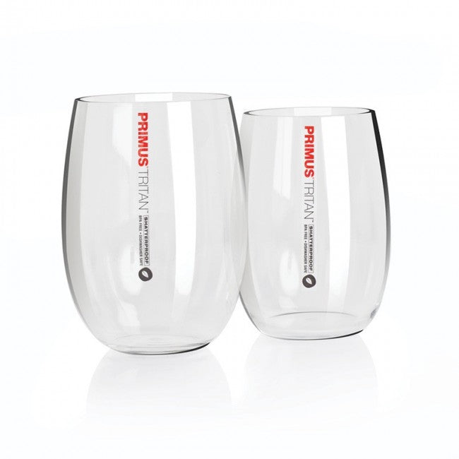 Tritan Stemless Wine Glasses - 2 Pack