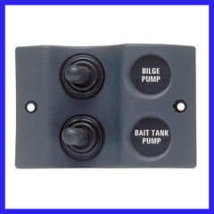 BEP 2 Way Spray Proof Switch Panel
