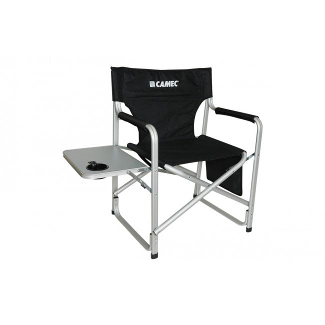 Aluminium Directors Chair With Table