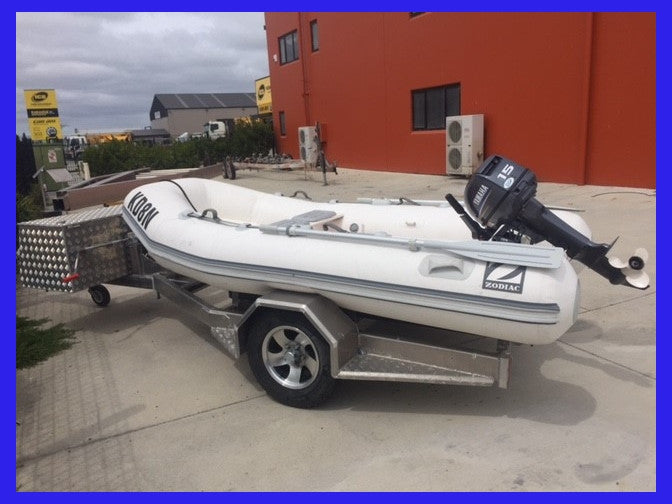 3.5 Zodiac with 15hp Yamaha