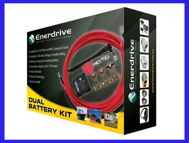 Enerdrive Dual Battery Kit
