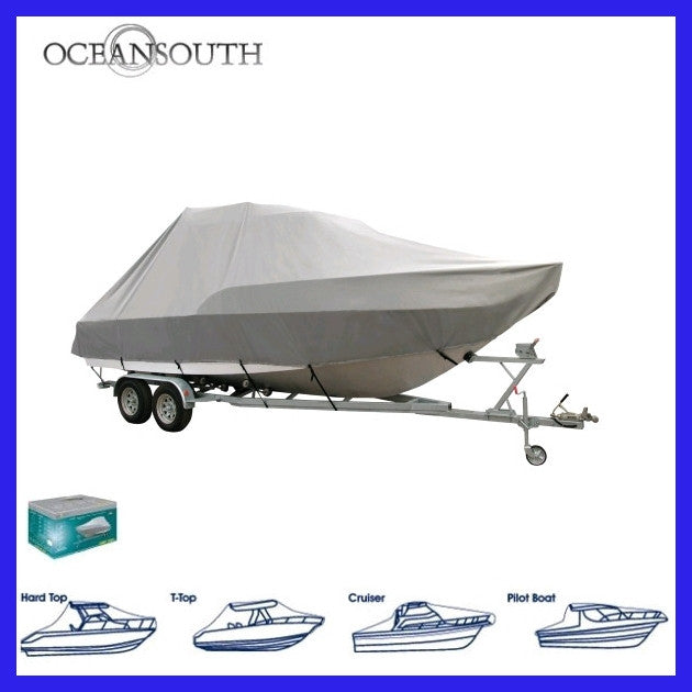 OCEANSOUTH Jumbo Boat Cover 5.8 - 6.4 M