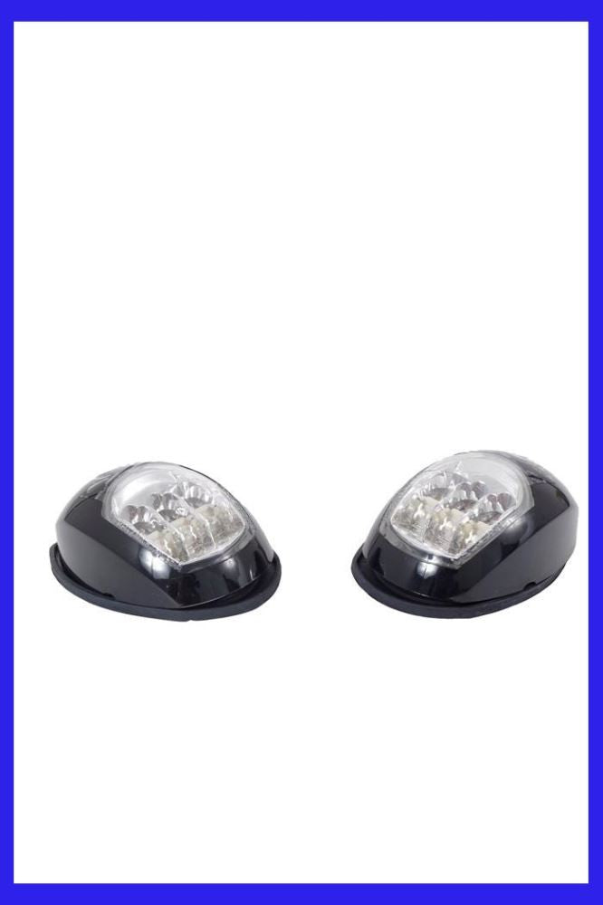 LED Nav Lights (Black Housing)