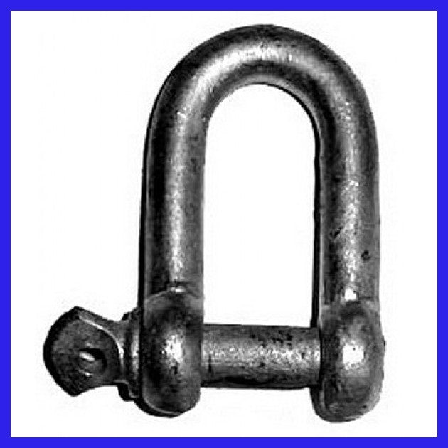8mm Hot Dipped Commercial Shackle