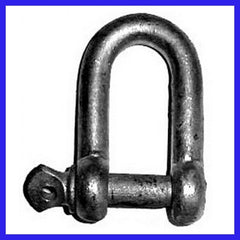 10mm Hot Dipped Commercial Shackle