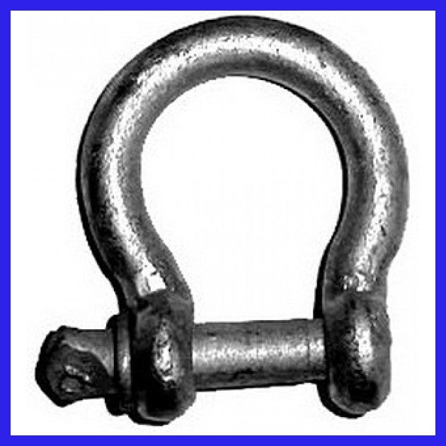 10mm Hot Dipped Commercial Bow Shackle