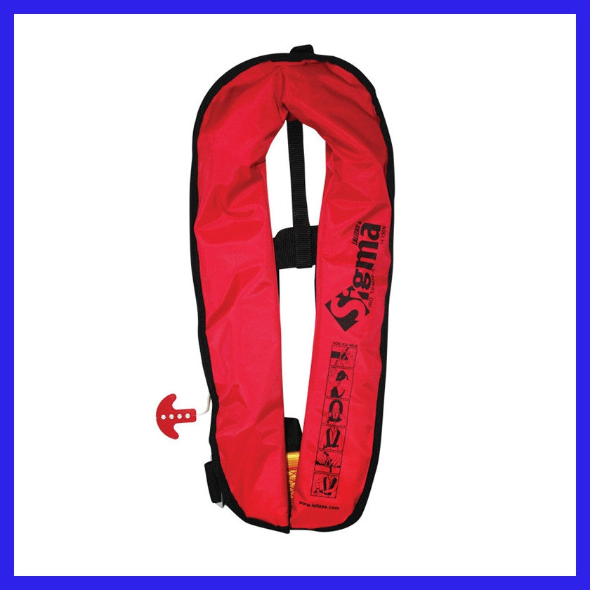 Sigma Manual Inflate Lifejacket **New Model**