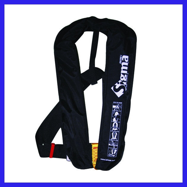 Sigma Manual Life Jacket (Black)
